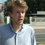 Shocking! UN intern living in a tent resigns – blaming HIMSELF for his predicament