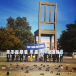 UN internships protest turns ugly as security team bans photographs