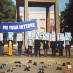 UN internships protest turns ugly