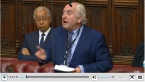 WATCH LORD BIRD SPEAKING AT THE HOUSE OF LORDS LAST WEEK